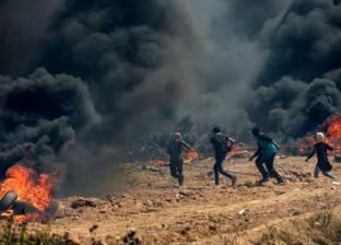 وزارة الصحة في غزة: إصابة 4 مسعفين بالاختناق بعد استهداف نقطة طبية