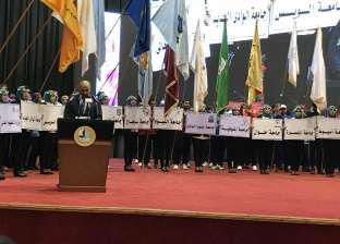 رئيس جامعة كفر الشيخ للشاب: احذروا الشائعات القادمة من وراء البحار