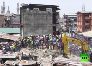 بالفيديو| انهيار مبنى مدرسة فوق 100 تلميذ في نيجيريا