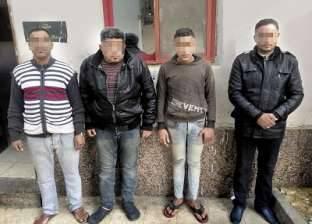 القبض على 58 متهما مطلوب ضبطهم فى قضايا جنائية