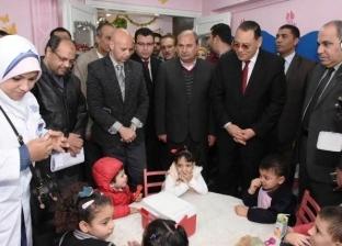 بالصور  انطلاق الحملة القومية للتطعيم ضد شلل الأطفال بالشرقية