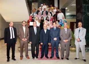 جامعة طنطا تكرم طلاب الجامعات العربية في ختام برنامج التبادل الطلابي