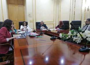 """رئيس """"التخطيط العمراني"""" يلتقي وفد الأمم المتحدة لبحث تطوير الإسكندرية"""