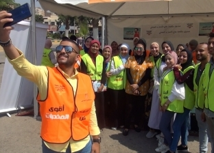 حملة لمكافحة الإدمان في جامعة عين شمس .. لازم نوعي شبابنا