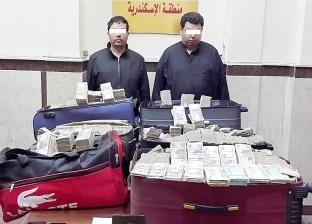 ضبط تاجري مخدرات عرب بـ22 مليون جنيه و100 جرام حشيش