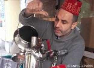 أبو صياح بائع القهوة البدوية منذ عقود في شوارع برلين