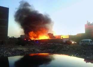 قوات الحماية المدنية تسيطر على حريق نشب في 3 منازل دون إصابات بسوهاج