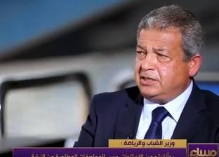 خالد عبد العزيز: ستاد القاهرة مجهز لاستضافة جميع البطولات الدولية