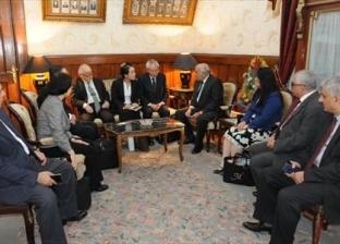 """رئيس """"استئناف القاهرة"""" لوفد ياباني: القضاء المصري يتمتع باستقلال تام"""