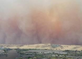 وقف الملاحة النهرية في أسوان بعد عاصفة ترابية شديدة