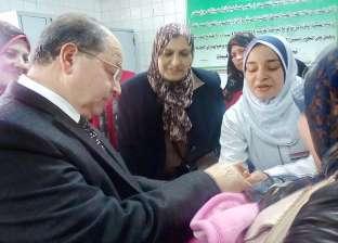 """""""صحة المنوفية"""": تطعيم 390 ألف طفل في الحملة القومية ضد الشلل"""
