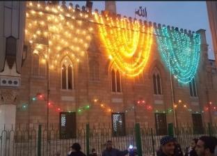 أغانٍ وابتهالات.. احتفالات رأس السنة مع مولد الحسين في يوم واحد