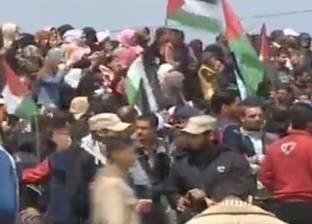استشهاد 16 فلسطينيا برصاص جيش الاحتلال بغزة في ذكرى يوم الأرض