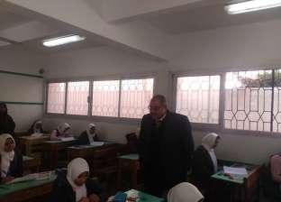"""وكيل """"تعليم مطروح"""" يتفقد امتحانات اللغة العربية للصف الأول الثانوي"""