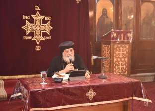 البابا يلقي عظته الأسبوعية من بيروت.. ويؤكد: مصر تقود مكافحة الإرهاب