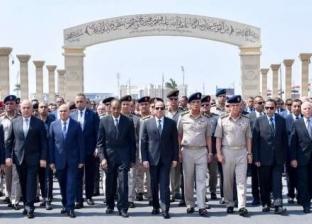 الرئيس السيسي يتقدم الجنازة العسكرية للفريق إبراهيم العرابي