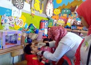 انطلاق حملة تطعيم طلاب مدارس القليوبية ضد الأمراض الطفيلية