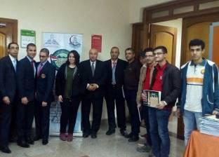 جامعة عين شمس تكرم وكيل كلية الطب البشري بجامعة بنها