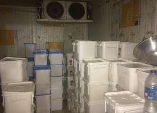 ضبط صاحب مصنع منتجات ألبان يستخدم مواد مجهولة المصدر بالمقطم
