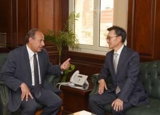 محافظ الإسكندرية لسفير كوريا الجنوبية: نحرص على التعاون وتبادل الخبرات