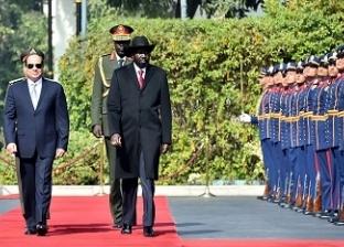 «السيسى»: ندفع علاقاتنا مع جنوب السودان لتصل إلى مستوى «الشراكة الاستراتيجية»