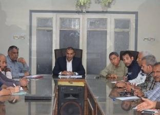 مناقشة مشروعات الخطة الاستثمارية في أبوقرقاص بالمنيا