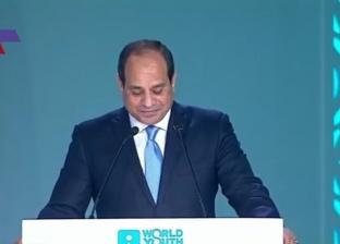 """السيسي: أشكر أهالي شرم الشيخ على ترحيبهم القوي بضيوف """"المنتدى"""""""