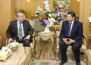 بروتوكول تعاون بين محافظة دمياط وجامعتها لتطوير الشوارع والميادين