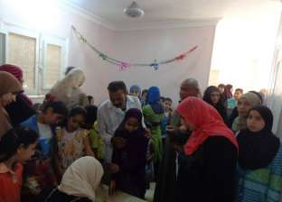 مستشفيات جامعة المنوفية: الكشف على 390 حالة مرضية بقرية كمشوش