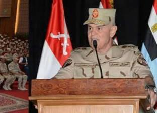 """رئيس أركان الجيش يشهد المرحلة الرئيسية للمشروع التكتيكى """"طاهر 57"""""""