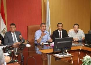 بالصور| محافظ كفر الشيخ يطالب بإنهاء المشروعات الخدمية في مواعيدها