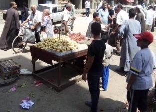 صور  حملة مكبرة لإزالة الإشغالات والتعديات بحي شرق أسيوط