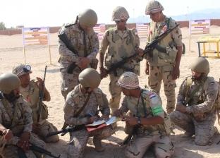 """مصر والسعودية تختتمان تدريبهما المشترك """"تبوك -4"""""""