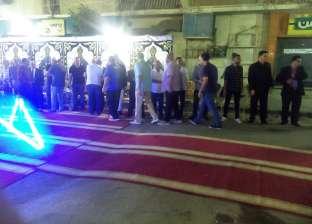 إينو وعباس في عزاء شقيق حسام وإبراهيم حسن