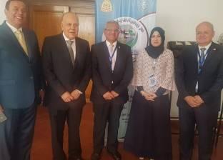 رئيس جامعة المنيا يحضر ملتقى تدريب طلاب الجامعات العربية