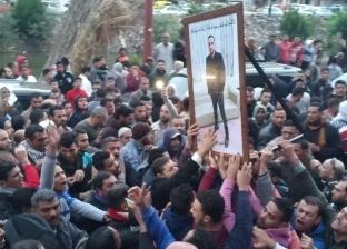 أهالي دمنهور يشيعون جثمان شهيد سيناء أحمد خطاب بحضور المحافظ