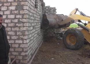 استعادة 8 أفدنة و2843 متر مربع أملاك دولة بمدينة فرشوط