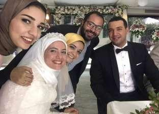 التفاصيل الكاملة لزواج الداعية معز مسعود والمرشدة بسنت نور الدين