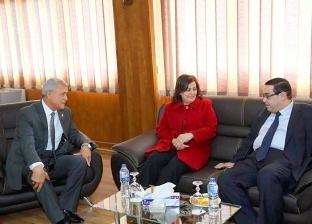 محافظ المنوفية يستقبل نائب وزير الزراعة لافتتاح مصنع أعلاف