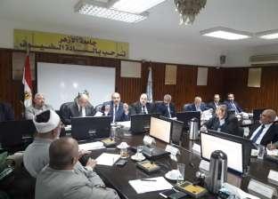 رئيس جامعة الأزهر يدعو لمجلس طارئ لبحث حوادث طريق البوابة الرئيسية