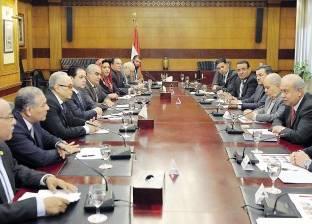 «إسماعيل» يعرض الخطوط العامة لبرنامج الحكومةعلى رؤساء الهيئات البرلمانية