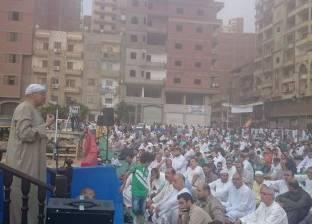 بالصور  صلاة العيد في المحلة.. والخطيب: علينا مواجهة الإرهاب