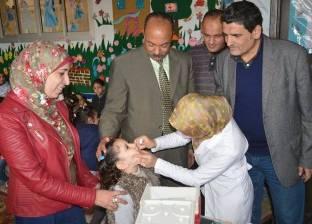 بالصور  رئيس مطوبس يتابع الحملة القومية للتطعيم ضد مرض شلل الأطفال