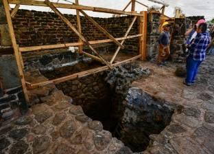 هزة أرضية تكشف عن معبد المطر الذي يعود لعام 1550