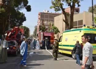 إصابة رضيعة بحروق بعد اشتعال النار بها من فرن بلدي بالدقهلية
