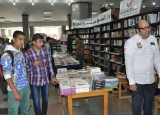 جامعة حلوان تنظم معرض المكتبة المركزية للكتاب