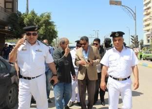 ضبط مواطن وبحوزته سلاح أبيض وتحرير 53 محضر إشغال في الإسماعيلية