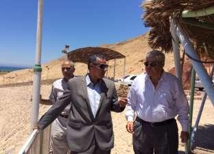 جنوب سيناء تبحث إسناد منطقة حمام موسى إلى شركة عالمية