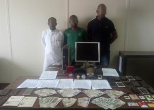 ضبط 3 أجانب كونوا عصابة للنصب الإلكتروني في القاهرة