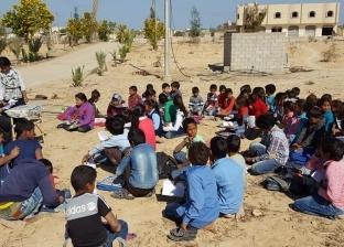 """""""الكتاتيب"""".. وسيلة أبناء شمال سيناء لتعليم الصغار القراءة والكتابة"""
